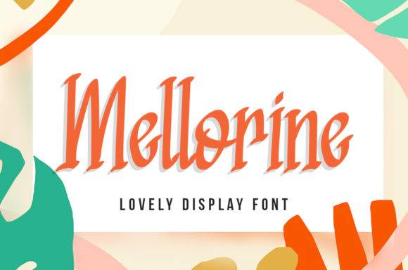 Print on Demand: Mellorine Display Font By agniardii
