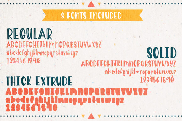 Print on Demand: Nacho Type Sans Serif Font By The Pretty Letters - Image 2