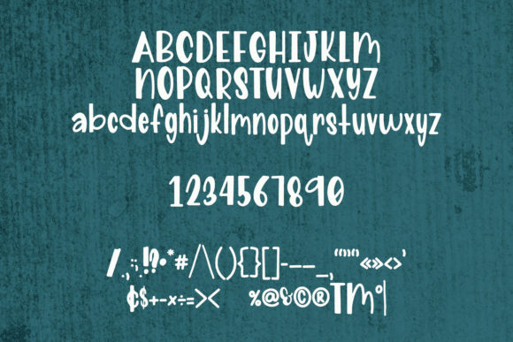 Print on Demand: Nacho Type Sans Serif Font By The Pretty Letters - Image 5