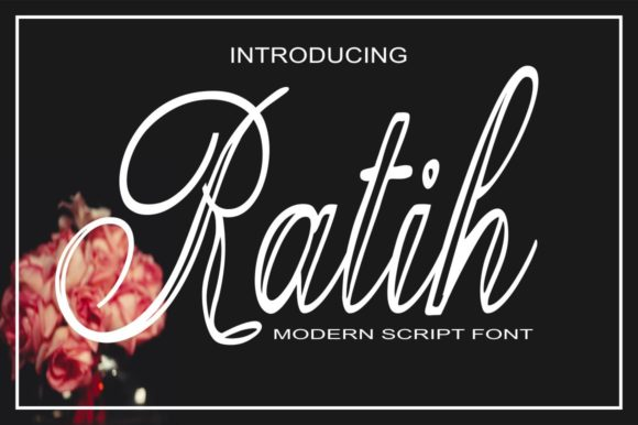 Print on Demand: Ratih Script & Handwritten Font By Bot Kerling