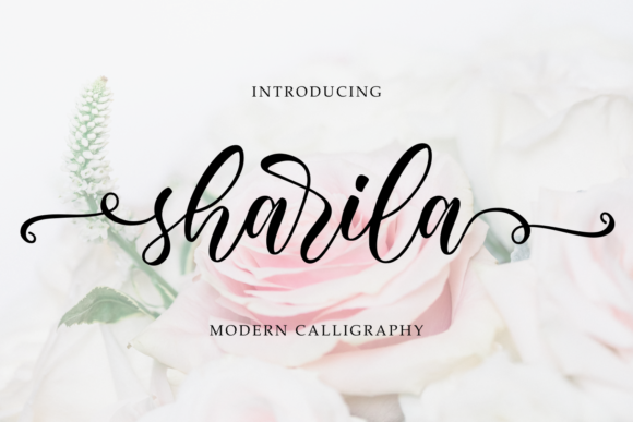 Print on Demand: Sharila Script & Handwritten Font By R. Studio