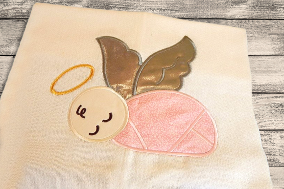 Angel Baby Applique Babies & Kids Embroidery Design By DesignedByGeeks