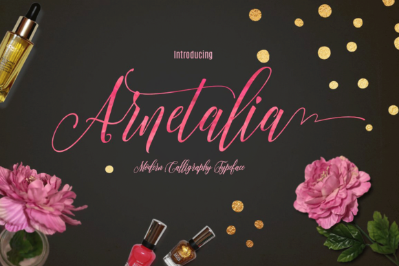 Print on Demand: Arnetalia Script & Handwritten Font By Artisans