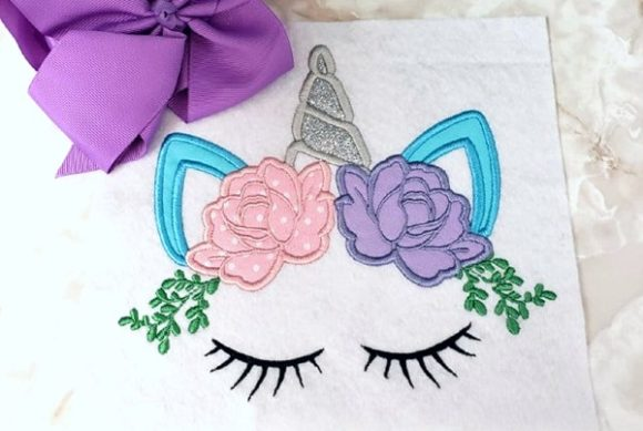 Bouquet Unicorn Bouquets & Bunches Embroidery Design By teegems242 - Image 1