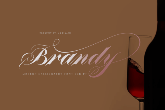 Print on Demand: Brandy Script & Handwritten Font By Artisans