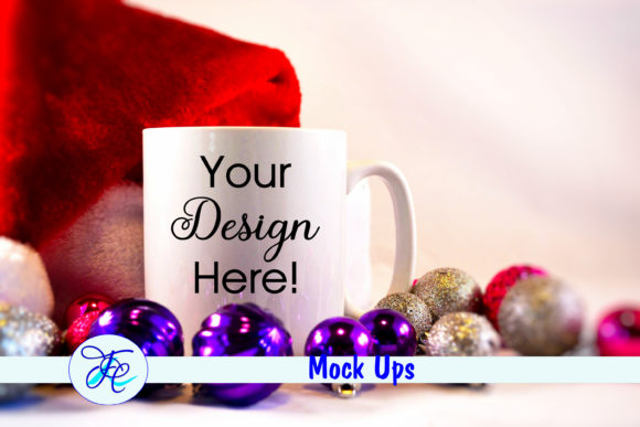 Download Free Christmas Cup Mock Up With Bulbs Graphic By Family Creations for Cricut Explore, Silhouette and other cutting machines.