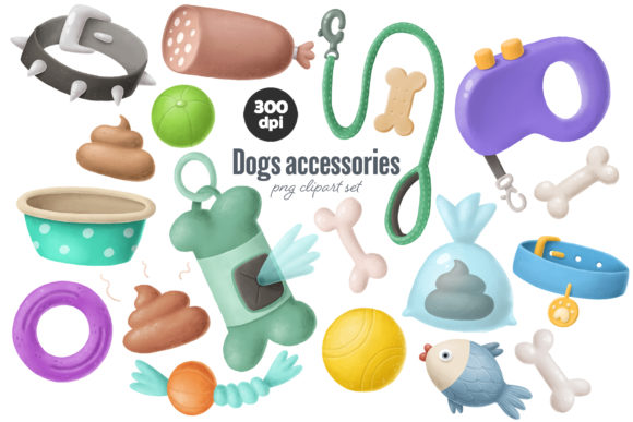 Print on Demand: Dogs Bundle Graphic Illustrations By Architekt_AT - Image 12