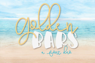 Print on Demand: Golden Bars Dingbats Font By Justina Tracy
