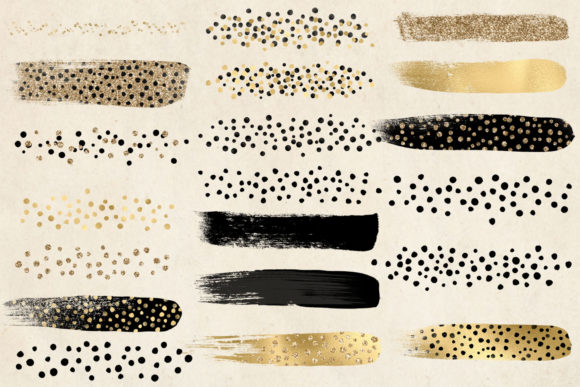 Download Free Golden Cheetah Brush Strokes Grafico Por Digital Curio for Cricut Explore, Silhouette and other cutting machines.