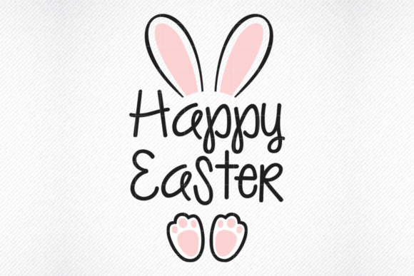 Download Free Happy Easter Graphic By Svg Den Creative Fabrica for Cricut Explore, Silhouette and other cutting machines.