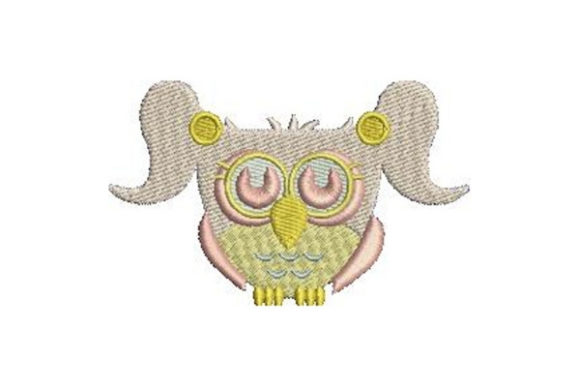 Owl Birds Embroidery Design By Embroidery Designs - Image 1