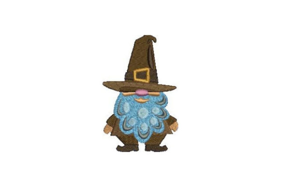 Pilgrim Gnome Thanksgiving Embroidery Design By Embroidery Designs - Image 1