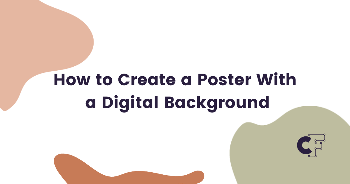 Download Free How To Design A Poster With A Digital Background Creative Fabrica for Cricut Explore, Silhouette and other cutting machines.