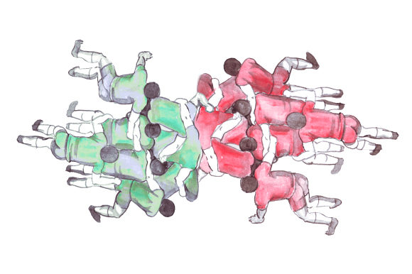 Rugby Scrum in Watercolor Sports Craft Cut File By Creative Fabrica Crafts