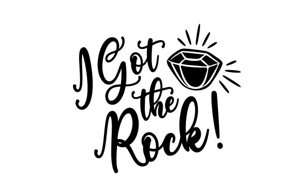 Download Free I Got The Rock Svg Cut File By Creative Fabrica Crafts for Cricut Explore, Silhouette and other cutting machines.