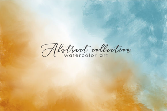 Print on Demand: Abstract Watercolor Background Graphic Textures By By Anna Sokol