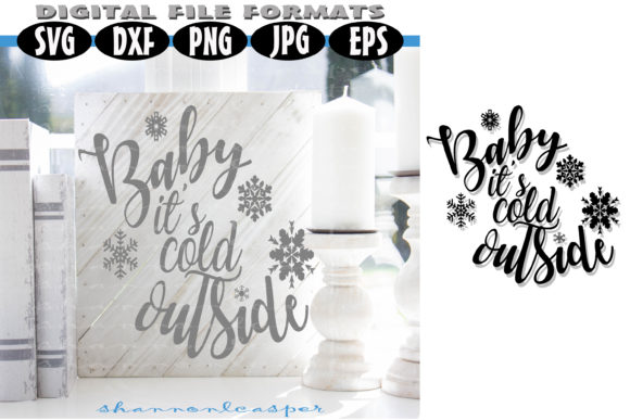 Print on Demand: Baby It's Cold Outside Graphic Illustrations By Shannon Casper