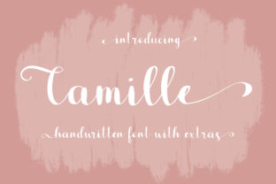 Print on Demand: Camille Script & Handwritten Font By sunday nomad