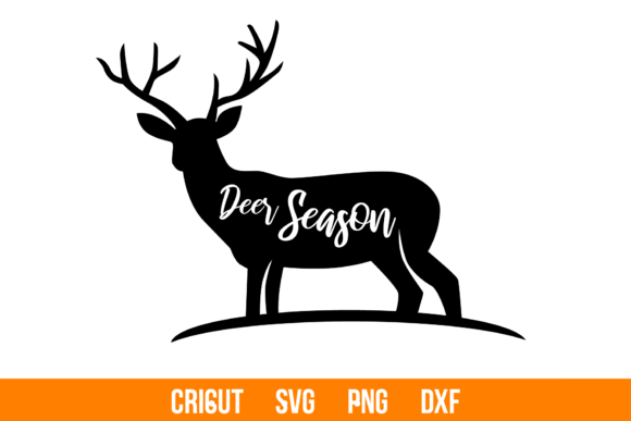 Download Free Deer Cutting File Cat Man Graphic By Spoonsummer Creative for Cricut Explore, Silhouette and other cutting machines.