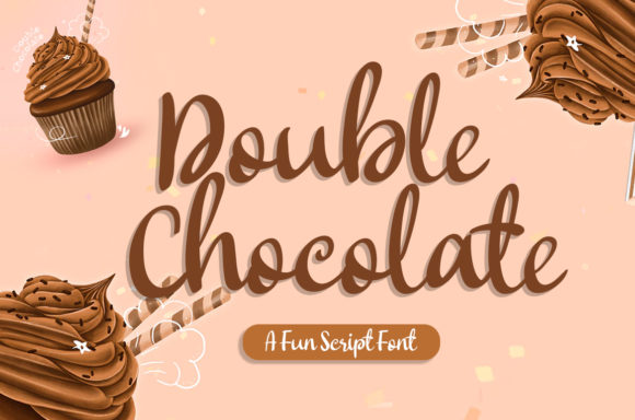 Print on Demand: Double Chocolate Script & Handwritten Font By agniardii