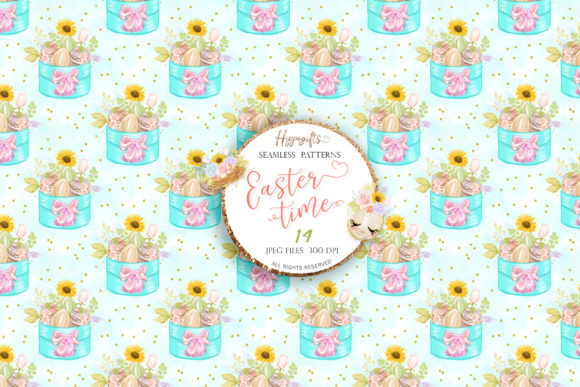 Easter Seamless Patterns Graphic Patterns By Hippogifts - Image 10