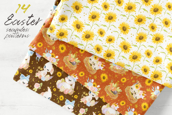 Easter Seamless Patterns Graphic Patterns By Hippogifts - Image 12