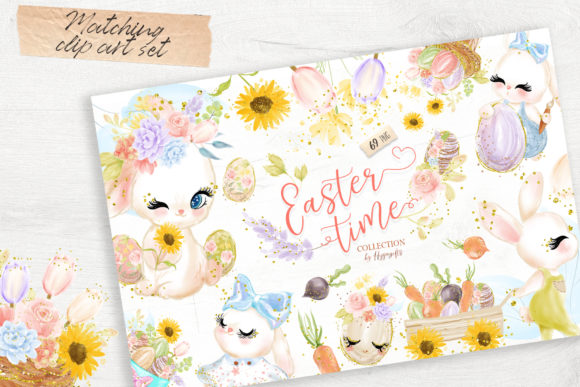 Easter Seamless Patterns Graphic Patterns By Hippogifts - Image 14