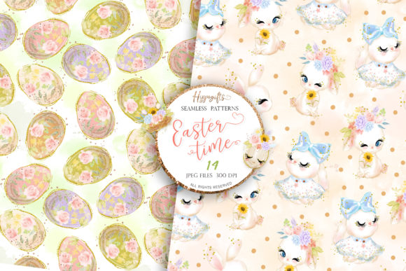 Easter Seamless Patterns Graphic Patterns By Hippogifts - Image 7