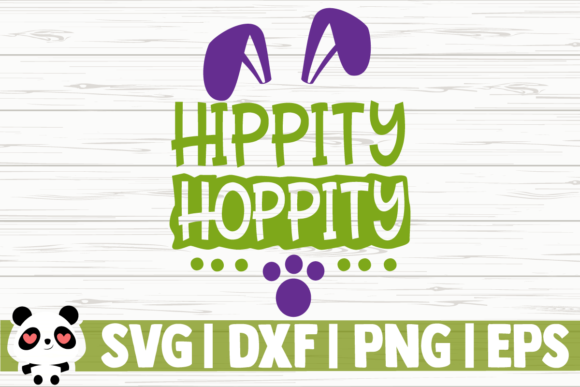 Print on Demand: Hippity Hoppity Graphic Illustrations By CreativeDesignsLLC