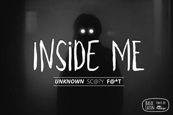 Print on Demand: Inside Me Display Font By YandiDesigns
