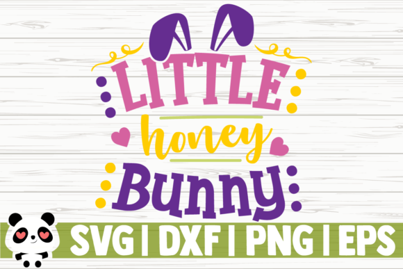 Print on Demand: Little Honey Bunny Graphic Illustrations By CreativeDesignsLLC