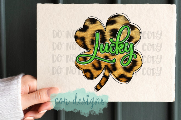 Print on Demand: Lucky Leopard Print Graphic Crafts By designscor