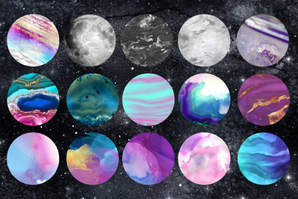 Planets Clipart Graphic Illustrations By Digital Curio - Image 3
