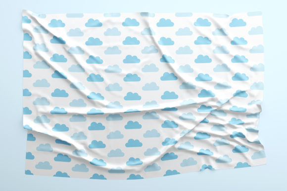 Rainy Day Blues Seamless Patterns Graphic Preview