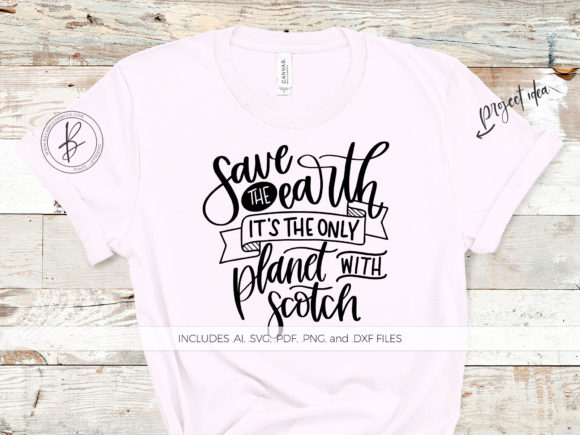 Print on Demand: Save the Earth Only Planet with Scotch Graphic Crafts By BeckMcCormick