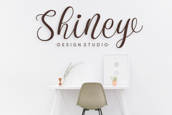 Download Free Shanita Font By Dani 7ntypes Creative Fabrica for Cricut Explore, Silhouette and other cutting machines.