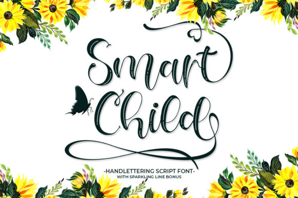Print on Demand: Smart Child Script & Handwritten Font By Struggle Studio