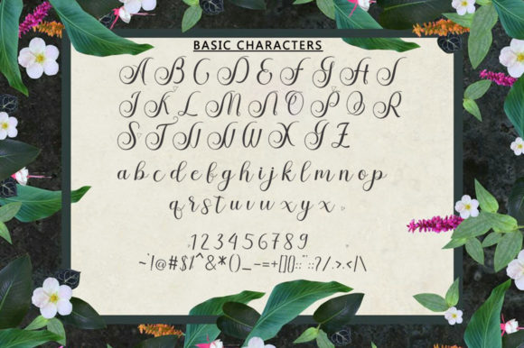 Print on Demand: Stephen Script & Handwritten Font By bungletter - Image 3