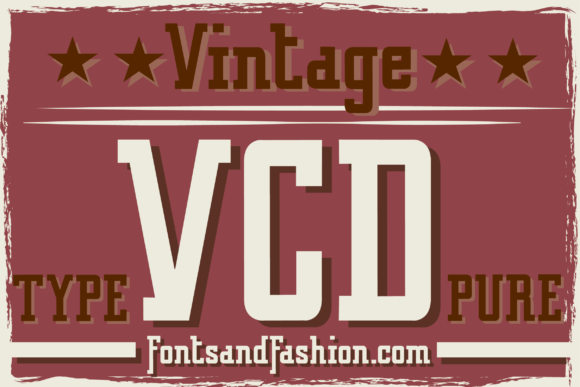 Print on Demand: Vintage College Dept Pure Slab Serif Font By Fontsandfashion - Image 2