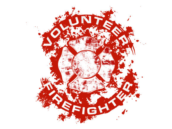 Download Free Volunteer Firefighter Maltese Cross Graphic By Davgogoladze for Cricut Explore, Silhouette and other cutting machines.