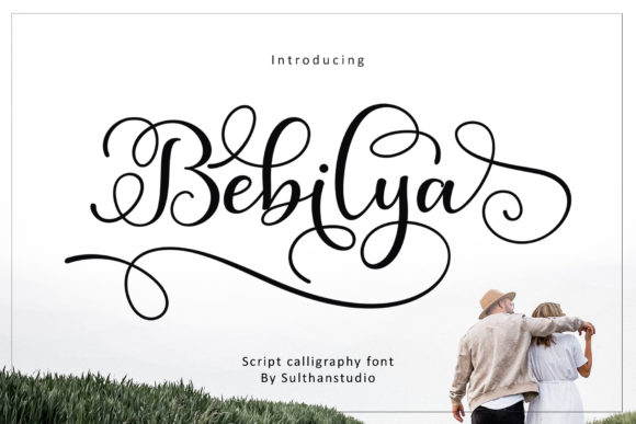Print on Demand: Bebilya Script & Handwritten Font By Sulthan Studio