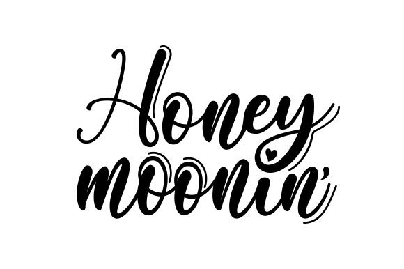Download Free Honeymoonin Svg Cut File By Creative Fabrica Crafts Creative for Cricut Explore, Silhouette and other cutting machines.