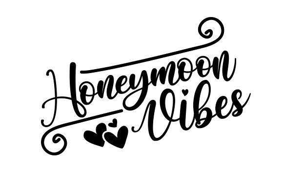 Download Free Honeymoon Vibes Svg Cut File By Creative Fabrica Crafts for Cricut Explore, Silhouette and other cutting machines.