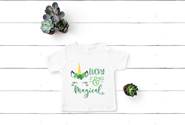 """Lucky & Magical""- You can get this design here."