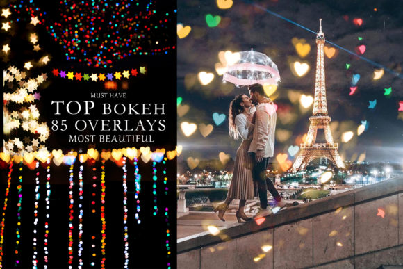 Download Free 85 Light Bokeh Photo Overlays Hearts Graphic By Impresstore for Cricut Explore, Silhouette and other cutting machines.