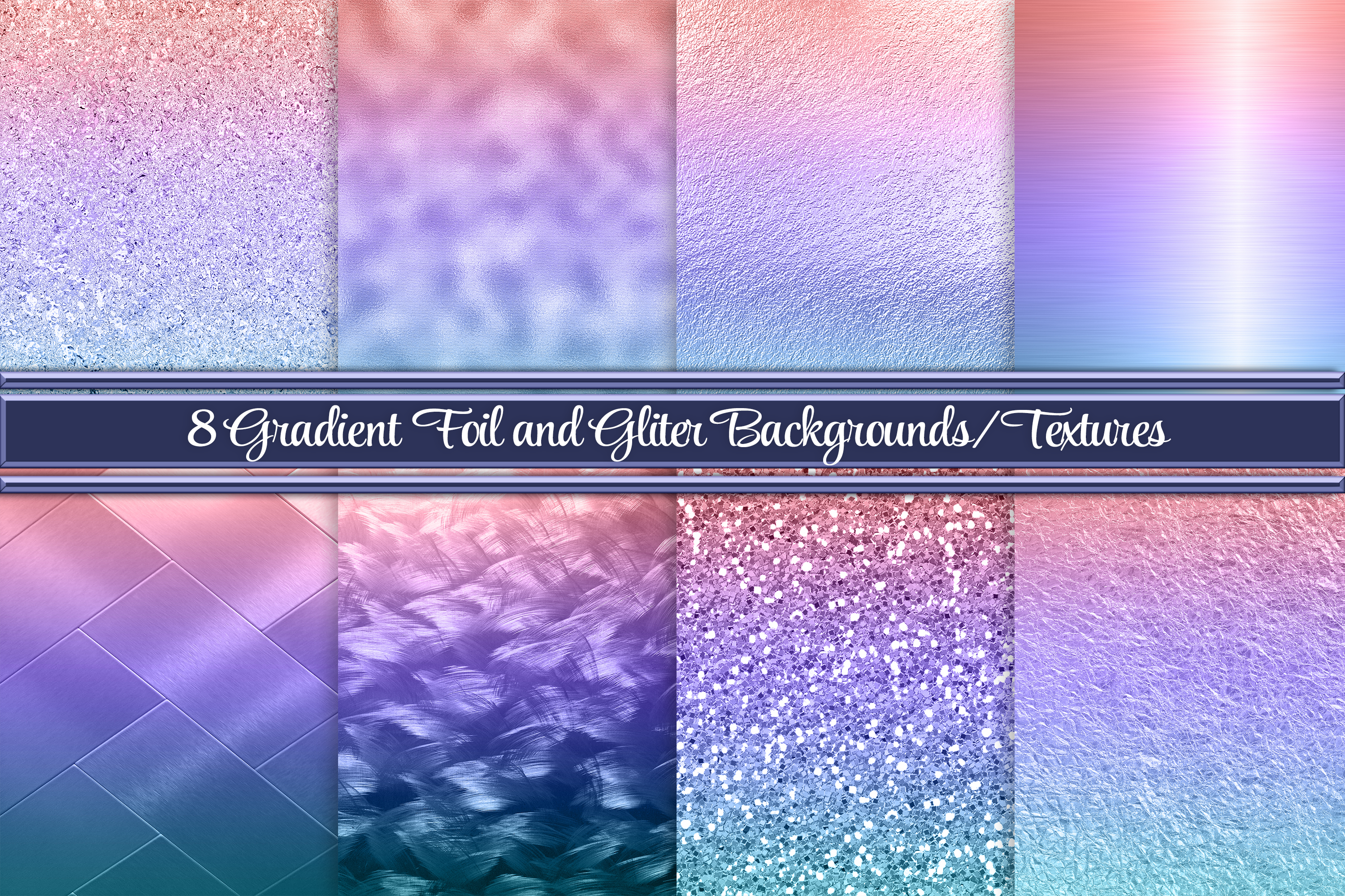Beautiful Gradient Backgrounds Textures Graphic By Am Digital