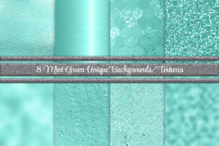 Beautiful Mint Green Background Textures Graphic By Am Digital