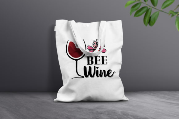 Print on Demand: Bee Wine Graphic Crafts By FounDream