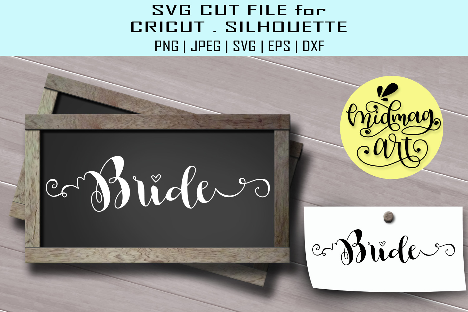 Download Free Bride Graphic By Midmagart Creative Fabrica for Cricut Explore, Silhouette and other cutting machines.