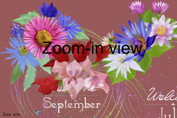 Download Free Bujo Cover Page Floral Wreath Designs Graphic By Jata Arts for Cricut Explore, Silhouette and other cutting machines.